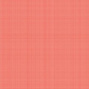 Linen texture | Living Coral