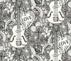 rockabilly doodle iron