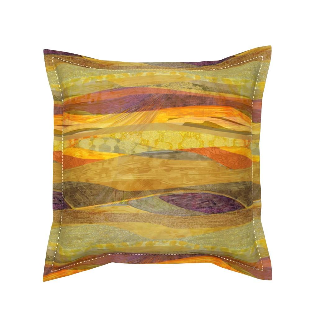 Serama Throw Pillow featuring Southwest  Modern Phoenix  by wren_leyland