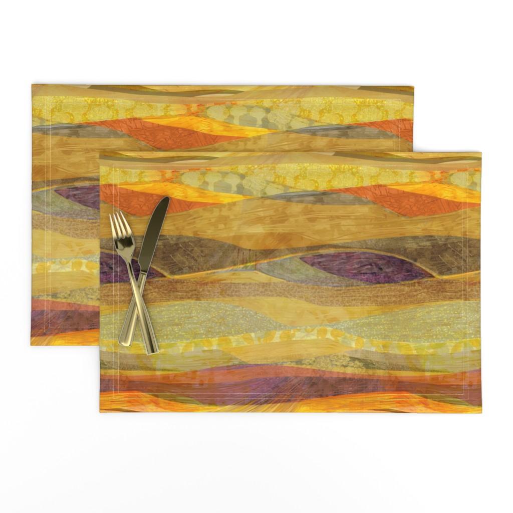 Lamona Cloth Placemats featuring Southwest  Modern Phoenix  by wren_leyland