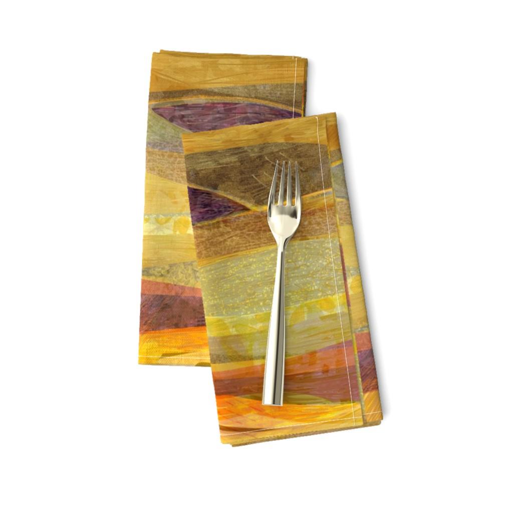 Amarela Dinner Napkins featuring Southwest  Modern Phoenix  by wren_leyland