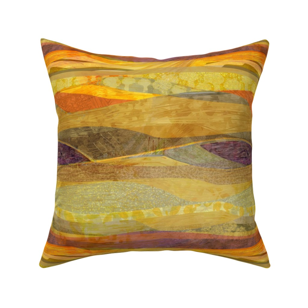 Catalan Throw Pillow featuring Southwest  Modern Phoenix  by wren_leyland