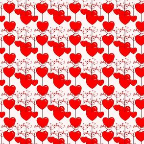 swirl string hearts