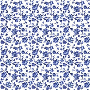 Fleurs de Provence ~ Provencal Blue and White ~ Small