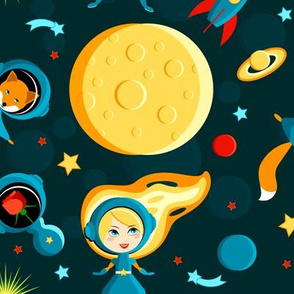 The Little Princess on the Moon