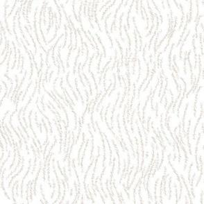 White Ermine Faux Fur