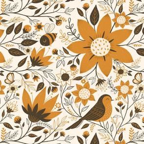 Birds + Bees Amber