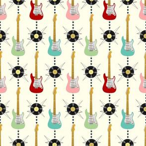 Electric Guitar Stripes