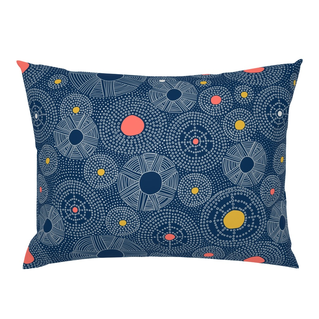 Campine Pillow Sham featuring Underwater Sky by organic_lines