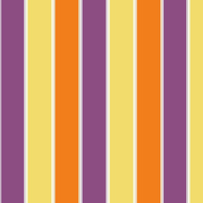 Halloween fat vertical stripe
