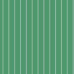 Christmas green stripes