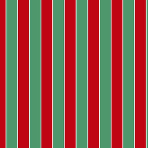 Christmas red _ green stripes