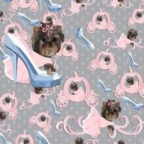 """Cinderella Yorkie Glass slipper - Abt. 3"""""""