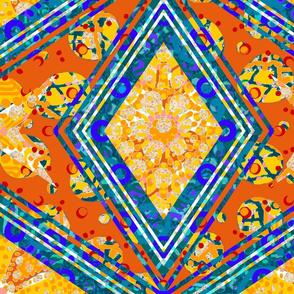 The Summer of Orange: Giant Diamonds