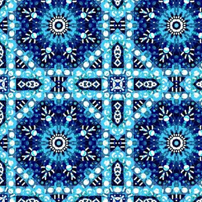 Mostly Blues: Diamonds, Squares, and an Over Ambitious Snowflake