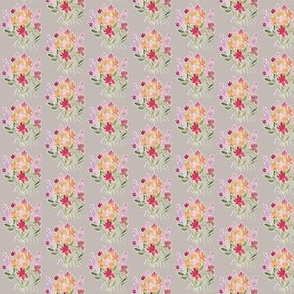 gray feminine floral