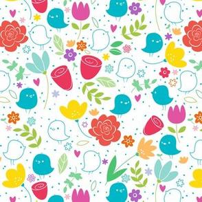 Love Birds - Medium Print