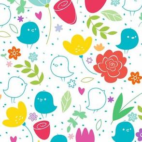Love Birds - Larger Print