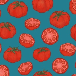 Whole and Cut Tomatoes