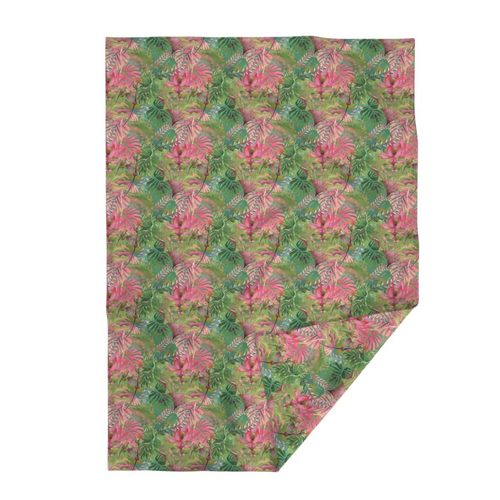 Lakenvelder Throw Blanket featuring Bohemian Paradise by floramoon
