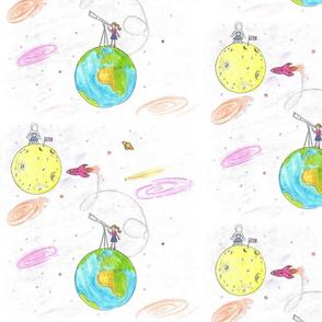 A Girl's Moon Goals