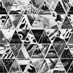 Monotone art triangles