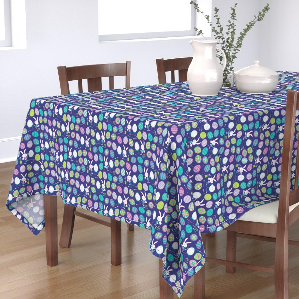 Bantam Rectangular Tablecloth featuring Pysanky by edward_elementary