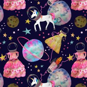 Space Princess Moon Landing (Large)