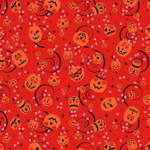 Valloween Magic-Red