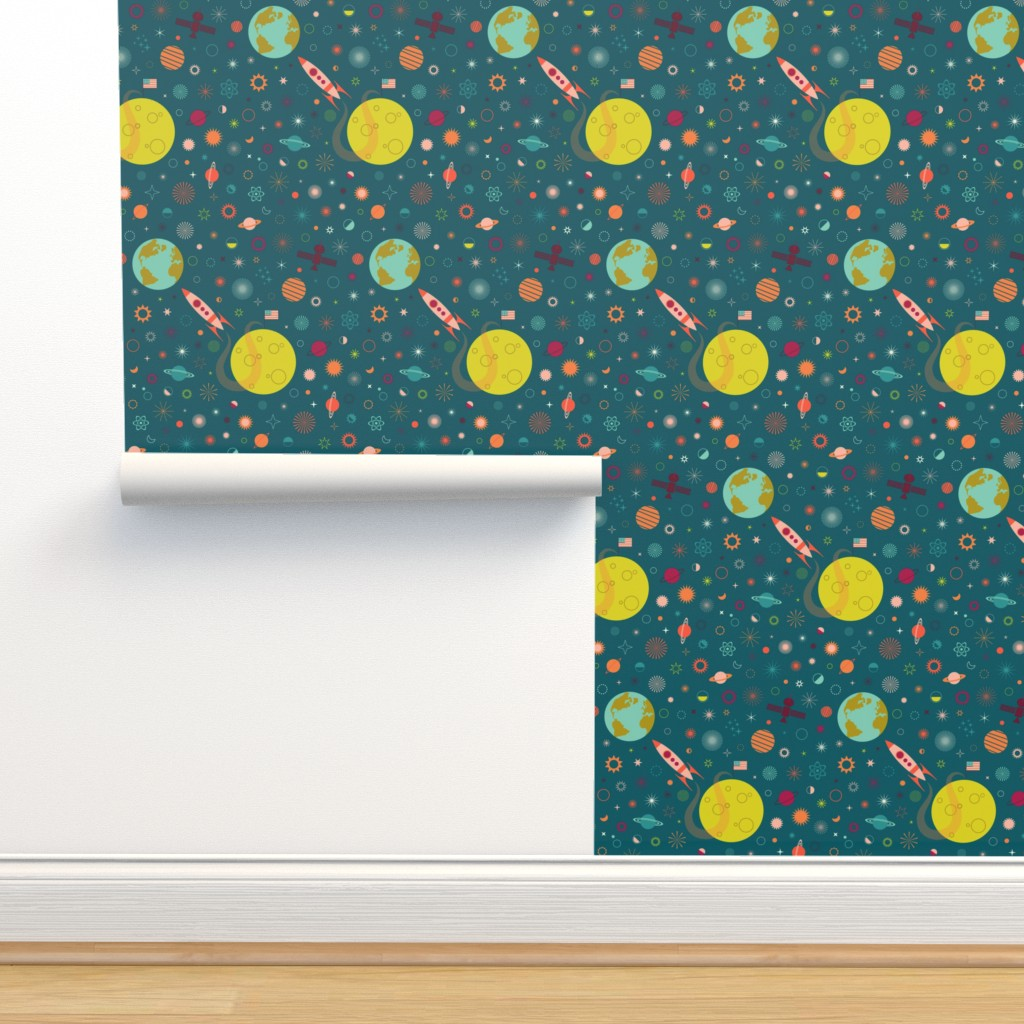 Isobar Durable Wallpaper featuring One Giant Leap for HUmankind by katerhees