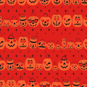 Valloween Pails- Red