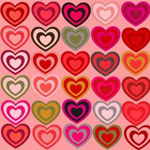 Twin Hearts  - Medium