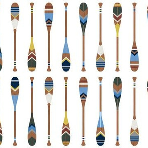 oar pattern vertical small