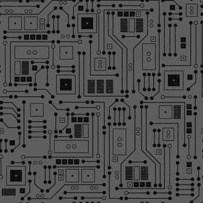 circuitboard gray
