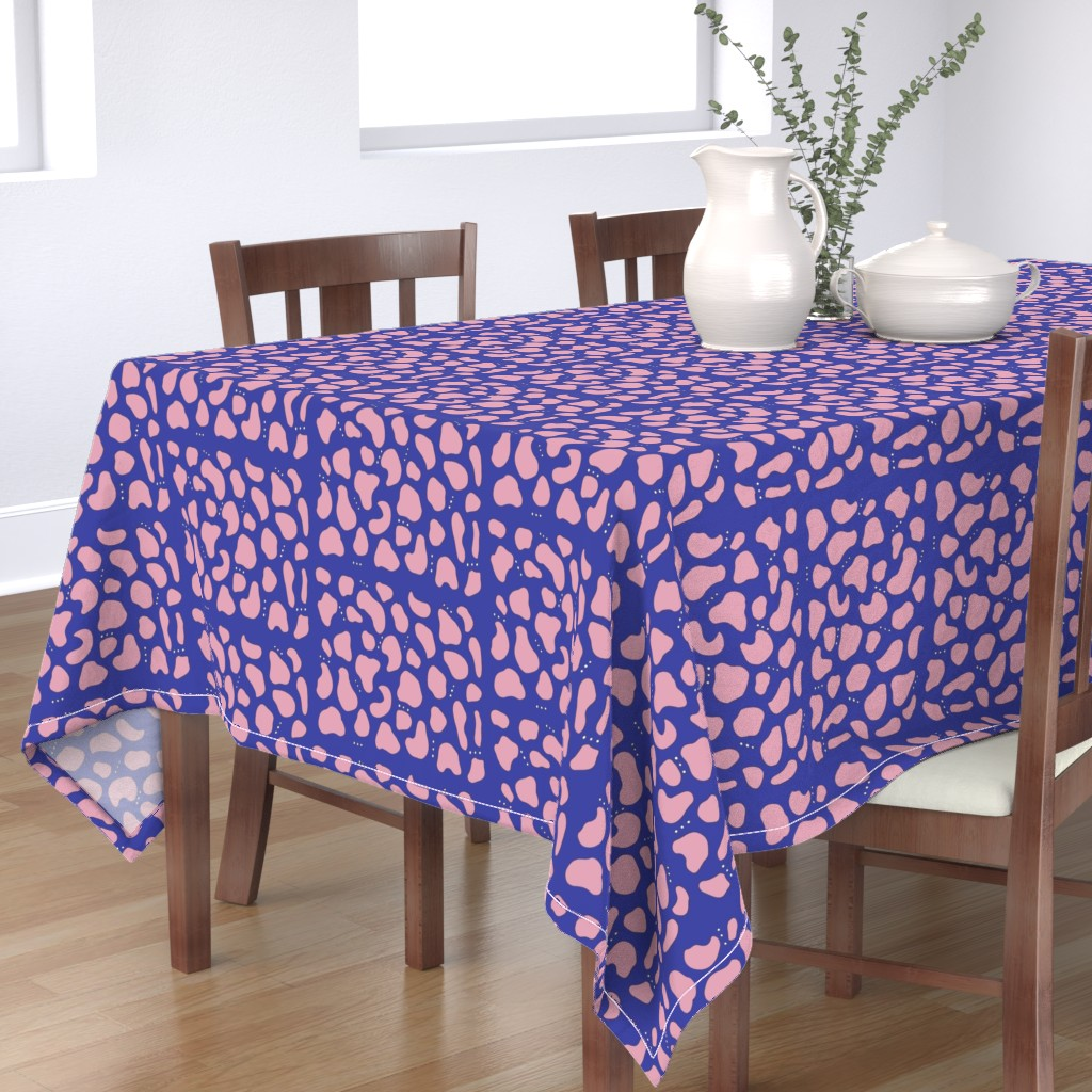 Bantam Rectangular Tablecloth featuring Pebbles & Rock in Blue by simplybykt