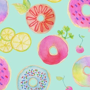 Love Donut - Blue
