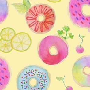 Love Donut - Yellow