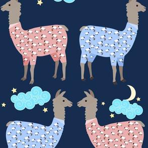 Llamas In Sheep Pajamas