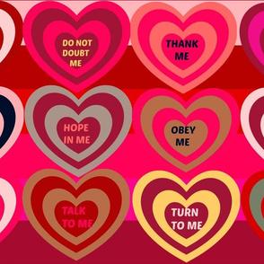 Do Not Forget Me! - Faith Hearts