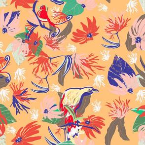 bird paradise repeat gold
