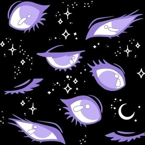 Third Eye (Lavender x Black)