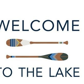 welcome to the lake oar