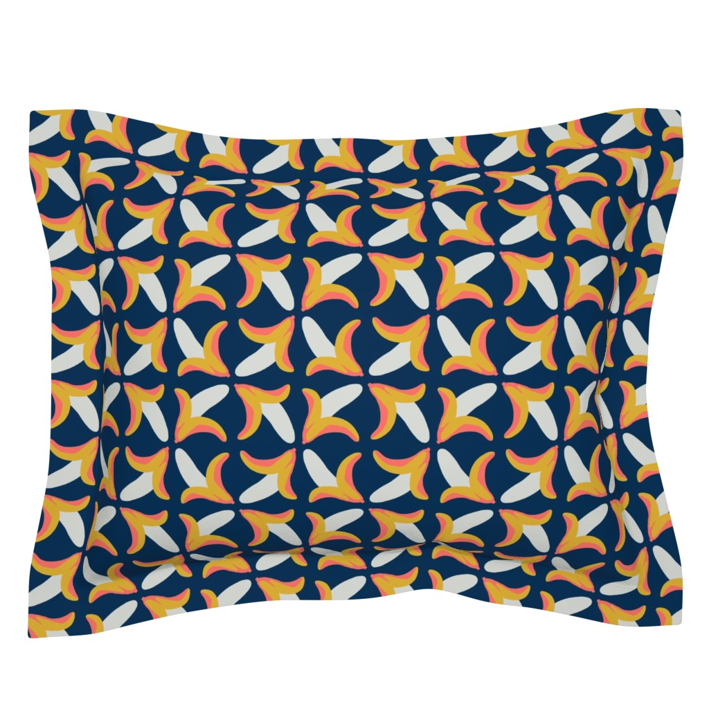 Sebright Pillow Sham featuring behold the banana by mongiesama