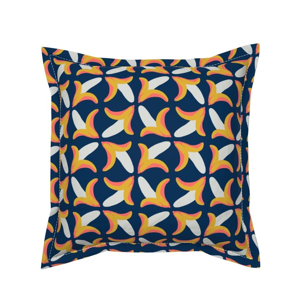 Serama Throw Pillow featuring behold the banana by mongiesama