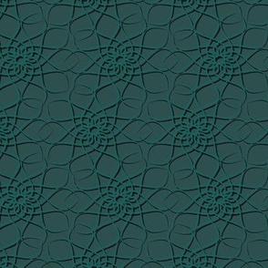 Monochrome, elegant Geoflower