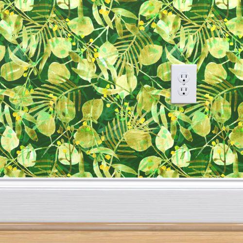 Wallpaper Tropical Print