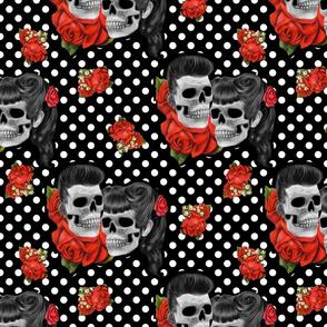 Rockabilly Skulls