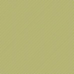Berry Stripe Green