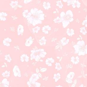 Soft Pink Foral