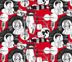 Rockabilly Rebellion Red